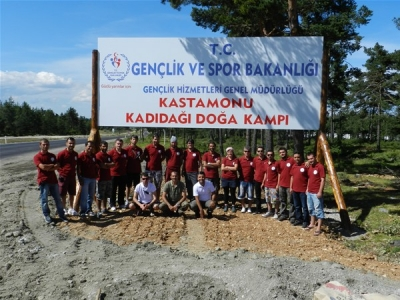 Çocuklar 15 Tatilde Doğa Kamplarına Gidiyorlar.